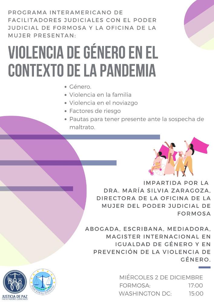 Violencia de Género en tiempos de pandemia
