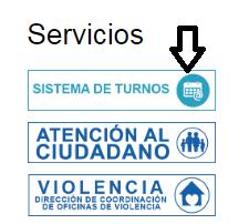 Servicios del portal web