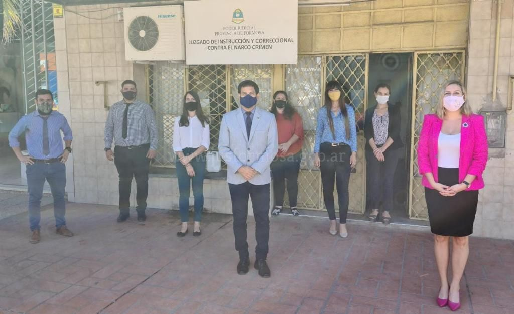 5 Aniversario - Juzgado contra el Narcocrimen