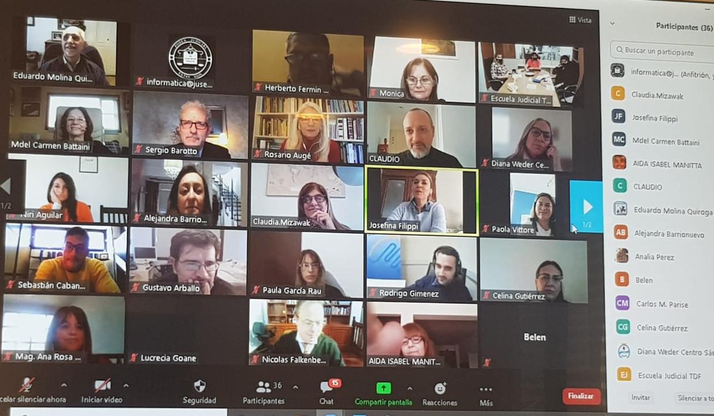 Encuentro Virtual de Escuelas Judiciales 2021