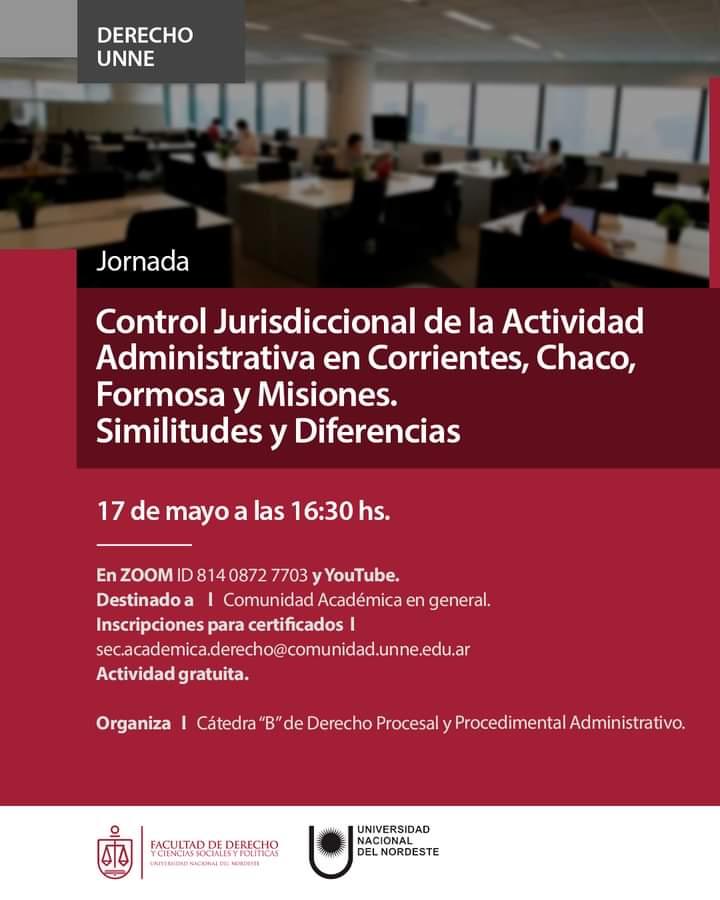 Jornada de Control Jurisdiccional de la Actividad Administrativa